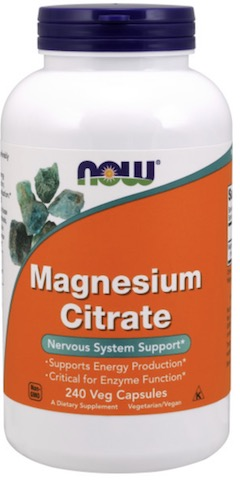Image of Magnesium Citrate 166 mg Capsule