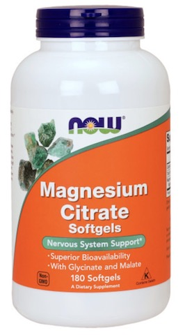 Image of Magnesium Citrate 134 mg Softgel