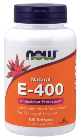 Image of E-400 d-alpha with Mixed Tocopherols plus Selenium