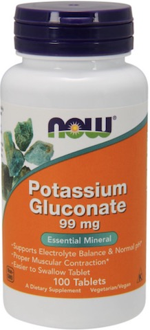 Image of Potassium Gluconate 99 mg