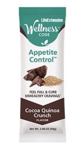 Image of Wellness Code Bar Appetite Control Cocoa Quinoa Crunch