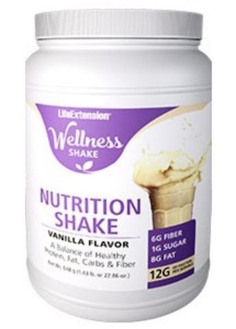 Image of Wellness Shake Vanilla