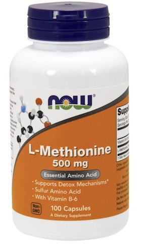 Image of L-Methionine 500 mg