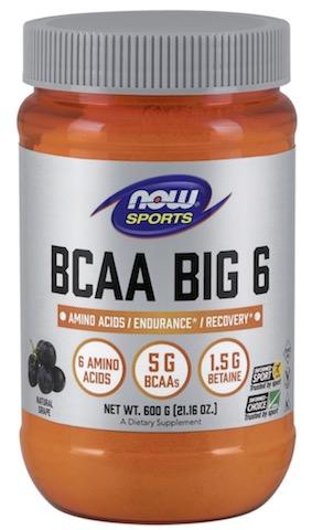 Image of BCAA Big 6 Powder Grape