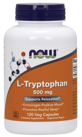 Image of L-Tryptophan 500 mg