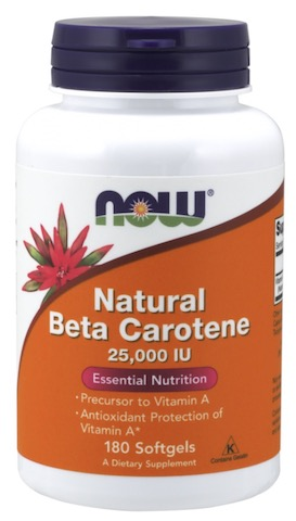 Image of Beta-Carotene 25,000 IU Natural