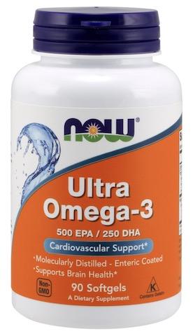 Image of Ultra Omega-3 1000 mg Molecularly Distilled Enteric Coated