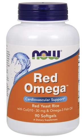 Image of Red Omega (Red Yeast Rice with CoQ10 & Omega-3 300/30/1000 mg)