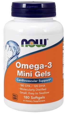 Image of Omega-3 Mini Gels 1000 mg Molecularily Distilled