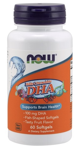 Image of Kid's Chewable DHA 100 mg Tutty Fruity