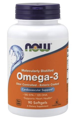 Image of Omega-3 1000 mg Molecularly Distilled Enteric Coated