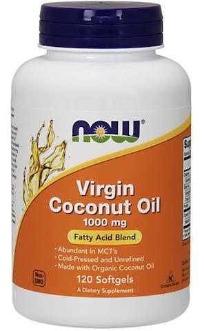 Image of Virgin Coconut Oil 1000 mg Softgels