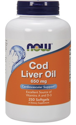 Image of Cod Liver Oil 650 mg
