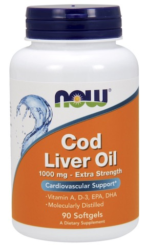 Image of Cod Liver Oil 1000 mg (Extra Strength)
