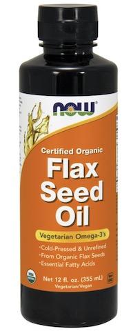Image of Flax Seed Oil Liquid Organic