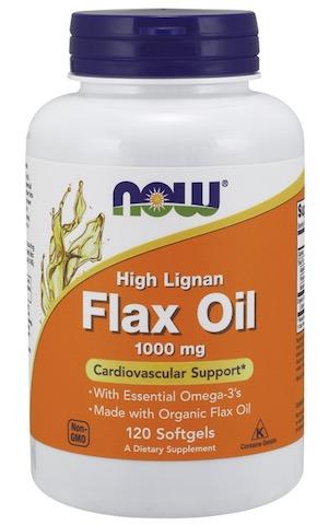 Image of Flax Oil 1000 mg High Lignan Organic