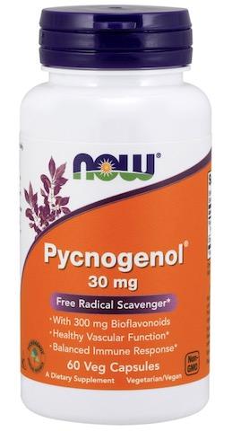 Image of Pycnogenol 30 mg with Bioflavonoids 300 mg
