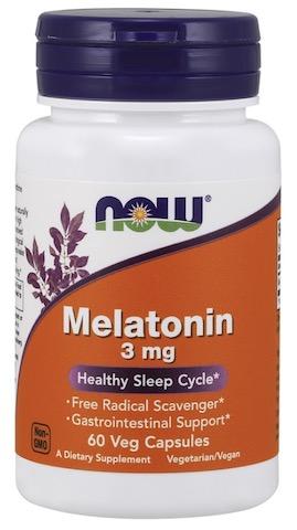 Image of Melatonin 3 mg Capsule