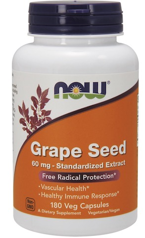 Image of Grape Seed 60 mg Standardized Extract