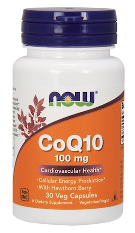 Image of CoQ10 100 mg with Hawthorn Berry Capsule