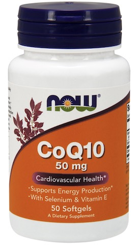 Image of CoQ10 50 mg Softgel