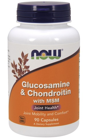 Image of Glucosamine & Chondroitin with MSM 500/400 /100 mg