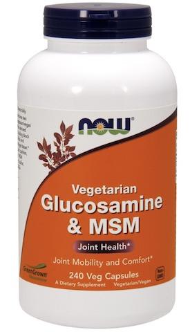 Image of Glucosamine & MSM 500/500 mg Vegetarian