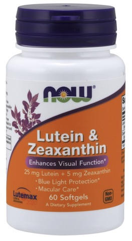 Image of Lutein & Zeaxanthin 25/5 mg