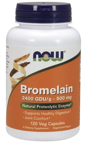 Image of Bromelain 500 mg 2400 GDU