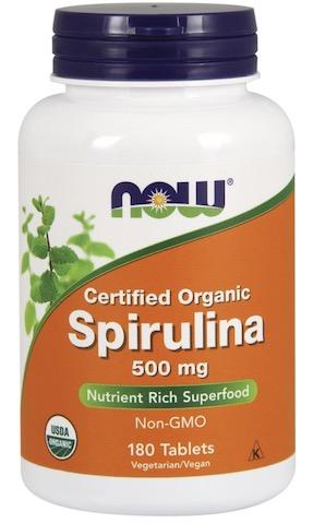 Image of Spirulina 500 mg Tablet Organic