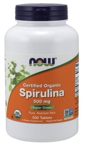 Image of Spirulina 500 mg Tablet Organic