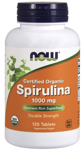 Image of Spirulina 1000 mg Organic Tablet