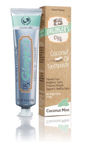 Image of Toothpaste Coconut Oil
