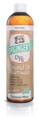 Image of Coconut Oil Mouthwash Coconut Mint