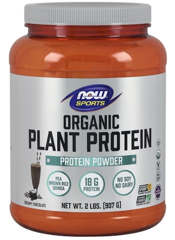 Image of Plant Protein Powder Organic Natural Chocolate