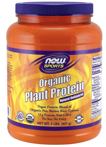Image of Plant Protein Powder Organic Natural Unflavored