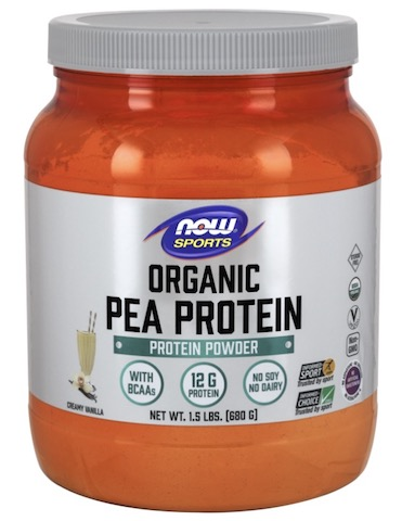 Image of Pea Protein Powder Creamy Vanilla Organic