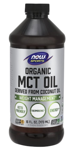 Image of MCT Oil Liquid Unflavored Organic