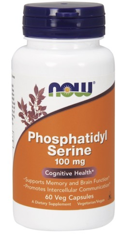 Image of Phosphatidyl Serine 100 mg with Choline & Inositol