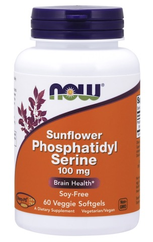 Image of Phospatidylserine 100 mg Sunflower Soy-Free