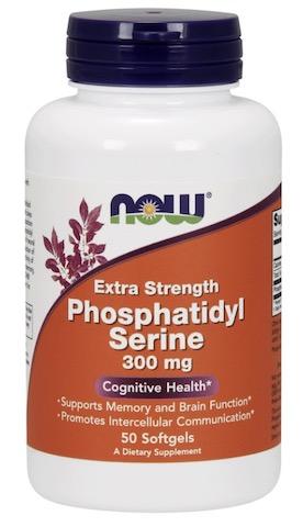 Image of Phosphatidyl Serine 300 mg Extra Strength