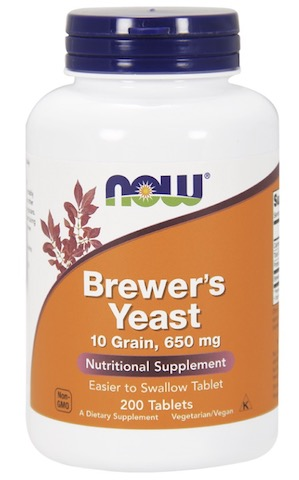 Image of Brewer's Yeast 650 mg 10 Grain