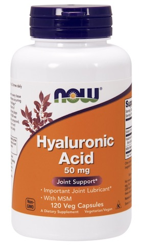 Image of Hyaluronic Acid 50 mg with MSM 450 mg