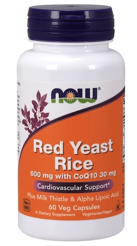 Image of Red Yeast Rice 600 mg with CoQ10 30 mg