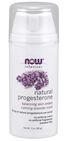 Image of Natural Progesterone Cream with LAVENDER