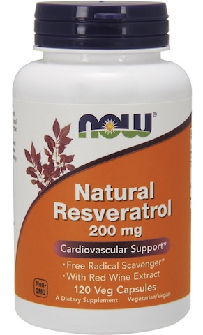 Image of Natural Resveratrol 200 mg