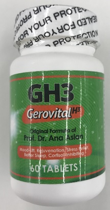 Image of Ana Aslan Gerovital H3 Original Formula GH3