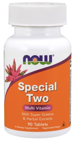 Image of Special Two Multi Vitamin with Super Greens Tablet