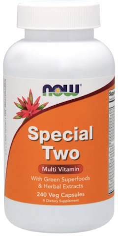 Image of Special Two Multi Vitamin with Super Greens Capsule