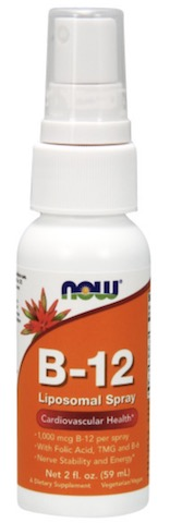 Image of Vitamin B-12 Liposomal Spray 1000 mcg